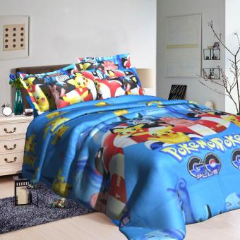 "Sleep Essentials Starmie Fire Roaster Collection 3 Piece Bedding Set (Fits 3"" to 6"" Bed Cushion) Price Philippines"