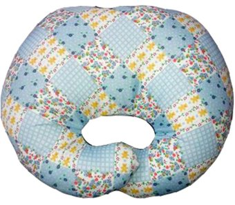 Harga Baby Puppy Training Grooming Chin Pillow in Country (Blue)