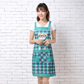 Habiter Kitchen Dining Room Cooking Waterproof And Oil Proof Sleeveless Aprons(Green) Price Philippines