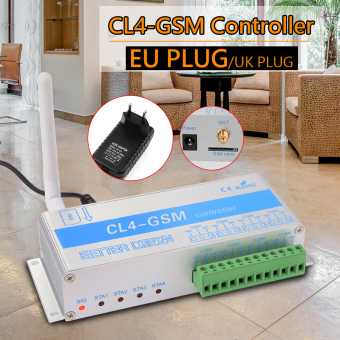 CL4-GSM Smart GSM Controller Switch Relay SMS Call Remote Control EU Plug TH463 Price Philippines