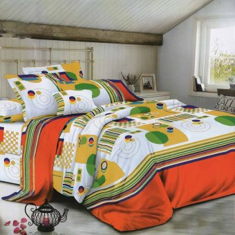 Harga CS Home Linen Collection Orbit Prime 3 Piece Bedding Set