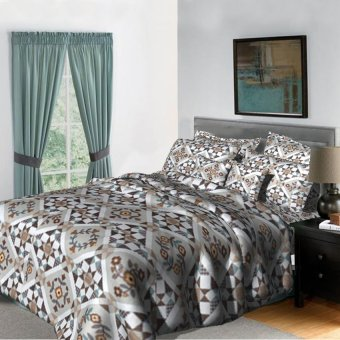 "Sleep Essentials Bloom Series Trixie 3 Piece Bedding Set (Fits 3"" to 6"" Bed Cushion) Price Philippines"