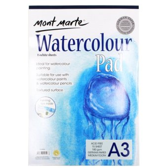 Harga Mont Marte Watercolor Pad (A3)