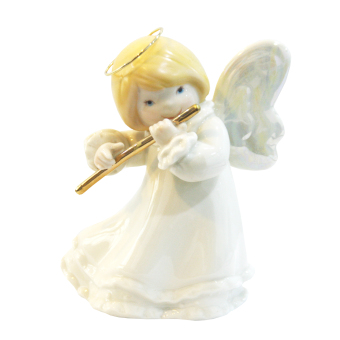 Porcelain Baby Angel with Flute Musical Instrument Price Philippines