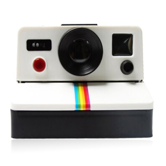 Harga Retro Polaroid Camera Shaped Toilet Paper Holder Tissue Box - intl