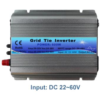 Harga YSMART GWV-600W-220V MPPT Function 600W on Grid Tie Inverter 30V 36V Panel 60 72 Cells MPPT pure sine wave inverter 220V Output - intl