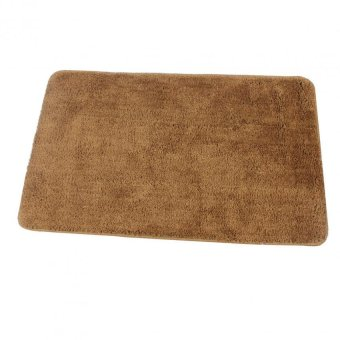 Harga Bathlux Non slip Soft Absorbent Floor Mat Door Mat Bath Mat (Brown)