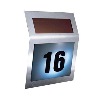 Solar Powered House Number Sign Price Philippines