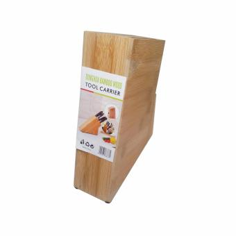 Harga Donghua Bamboo Wood Tool Carrier Knife Holder