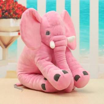 Baby Children Elephant Doll Sleeping Pillow Soft Plush Stuff Toys Xmas Pillow Pink - intl Price Philippines