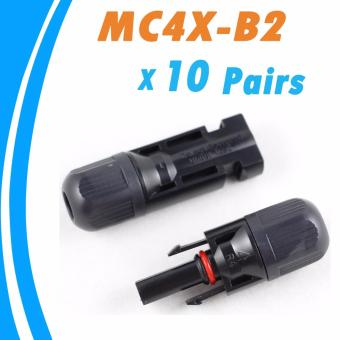 Harga YSMART10PCS Male and Female MC4 Solar Panel Connector Used for Solar Cable Suitable Cable Cross Sections 2.5mm2~6.0mm2 - intl