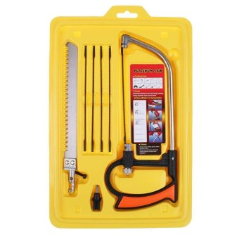 Harga 8 in 1 Magic-Saw Multi Purpose Hand Saw Mental Wood Glass Saw Kit SET Tool - intl