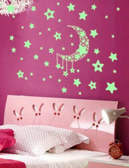 Home Decoration Glow in Darkness Stars Mural Decal Art Home Wall Stickers Price Philippines