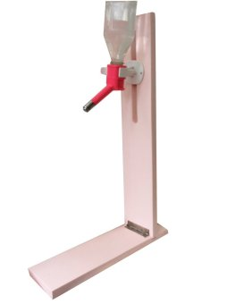 Harga Pet Depot Water Bottle Nozzle Stand (Tickled Pink)