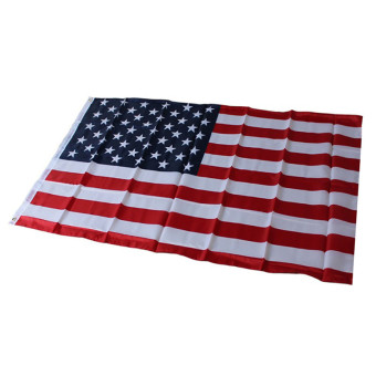 HengSong American US Flag Polyester Printed Stars and Stripes USA Banner Flag - intl Price Philippines