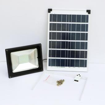 50W Waterproof Solar Powered LED Flood Spot Light - intl Price Philippines