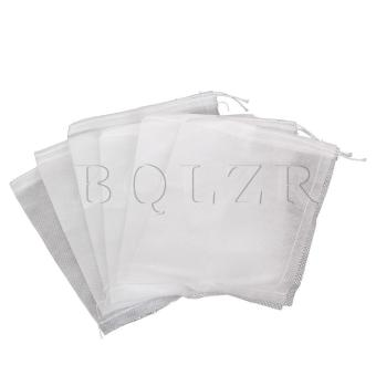Drawstring Teabags Empty Heat Seal Filter Set of 100 (White) Price Philippines