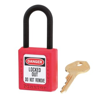 Master Lock LOCK OUT TAG OUT PADLOCK(TEMP & CHEMICAL RESISTANT)406RED Price Philippines
