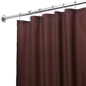 Interdesign Shower Curtain (Chocolate Poly) Price Philippines