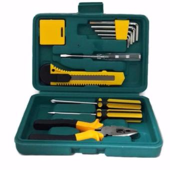 Harga QF 12 Pcs Professional Hardware Home Repair Accesory Tools Set