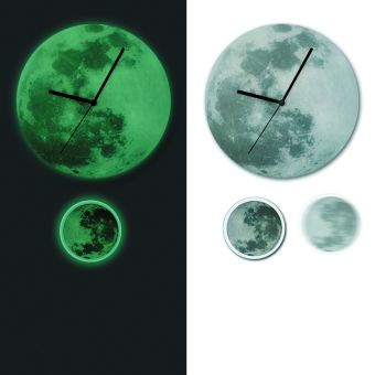 Harga New Classic Moon Pendulum Glowing Clock (Grey)