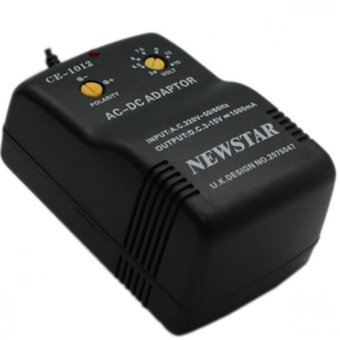 Harga Newstar Multiple AC/DC Adaptor 1000mA Max CE-1012