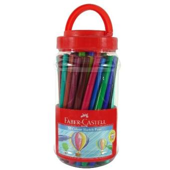 Harga Faber-Castell Coloring Pens 50 Colors Jar