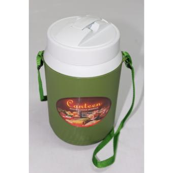 0091 1.2 Liters Personal Water Jug With Nylon Strap - Green Price Philippines