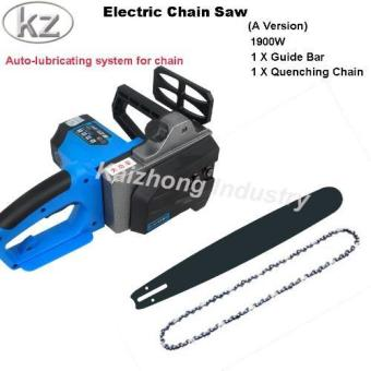Harga Kaizhong Electric Chain Saw A Version Multifunctional Woodworking Saws Household Electric Tools - intl