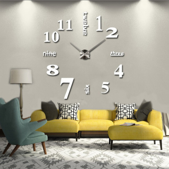 3D Diy Modern Home Decoration Wall Clock Price Philippines