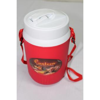 0091 1.2 Liters Personal Water Jug With Nylon Strap - Red Price Philippines