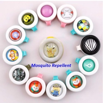 J&J Bikit Guard Buckle Mosquito Insect Repellent Set of 3(Random Design)