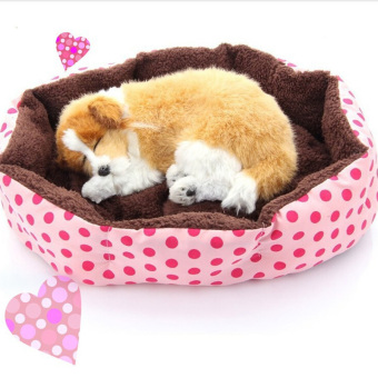 Jetting Buy Cute Pet Bed Soft Flannel Warm Pink Price Philippines