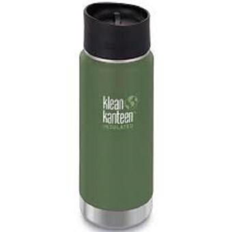 Klean Kanteen Wide Insulated Tumbler 16oz Cafe 2.0 (Vineyard Green)