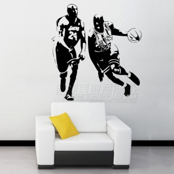 Kobe Bryant Student Dormitory fitness room Decorative Sticker wall adhesive paper
