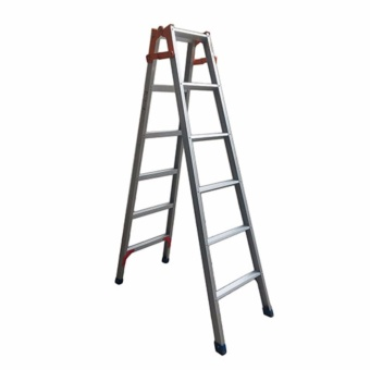 Kruger Aluminum Dual Purpose Ladder, A12006 (6-11 ft)
