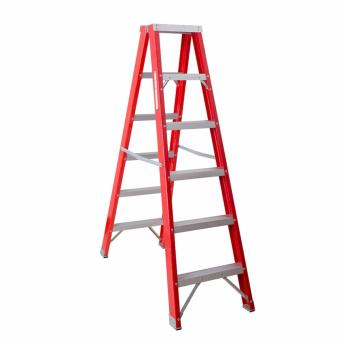 Kruger Fiberglass Double Side Ladder, F32106 (2x6 Steps)