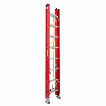Kruger Fiberglass Extension Ladder, F32808 (8-13 Rungs)