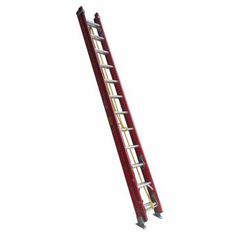 Kruger Fiberglass Extension Ladder, F32812 (12-21 Rungs)