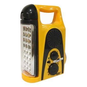 Leetec LED Rechargeable AM/FM Scan Radio Emergency Light LT-315