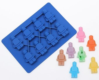 LEGO New Style Building Blocks robot silicone Ice Tray