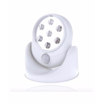 Light Angel Motion Activated Cordless LED Night Sensor Light (White)