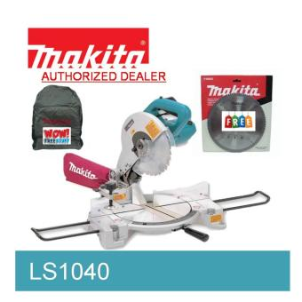 Makita Miter Saw LS1040 with FREE 100 teeth Makita Miter Saw Blade & Backpack Price Philippines