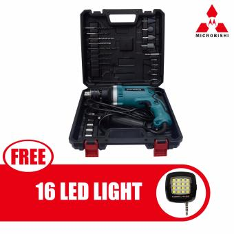 Microbishi Japan Impact Drill Power Drills MID-29SET (Blue) withfree 16 Led Mini Selfie Led Light (Color May Vary) Price Philippines