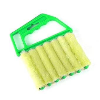 Microfibre Venetian Blind Brush Window Air Conditioner Duster Dirt Clean Cleaner - intl