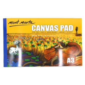 Mont Marte Canvas Pad (A3) Price Philippines
