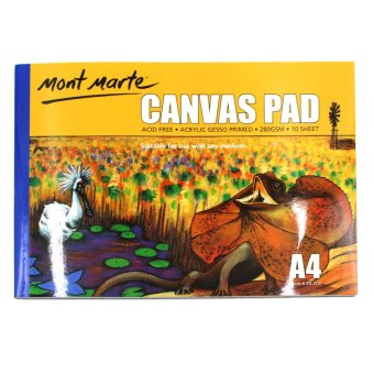 Mont Marte Canvas Pad (A4) Price Philippines