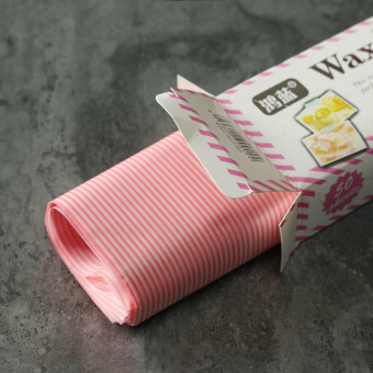 Multi-color lovely lettered strawberry sandwich packaging paper greaseproof paper