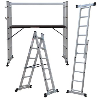 Multi-purpose Scaffold Ladder SL-206 (Silver)