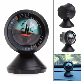 Multifunction Car Inclinometer Slope Outdoor Measure Tool VehicleCompass - intl